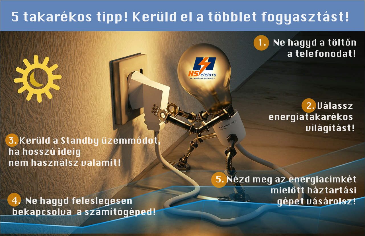 villanyszámla csökkentés